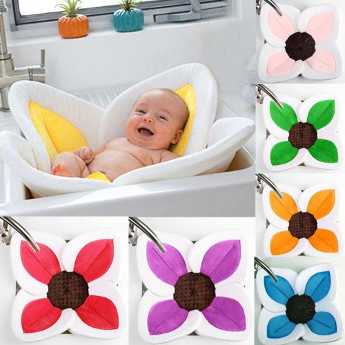 מושב תינוק לאמבטיה בצורת פרח