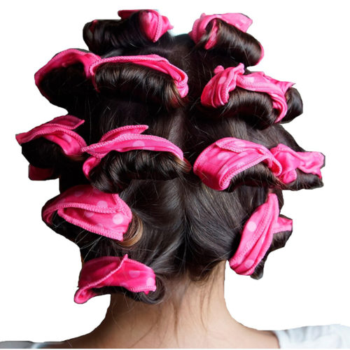 גומיות ספוג קסם לסלסול השיער (סט של 6)