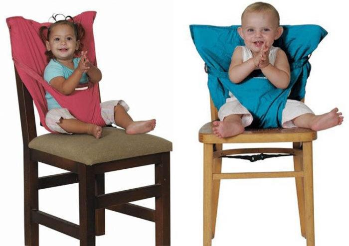 הופך כל כיסא לבטיחותי עבור ילדים
