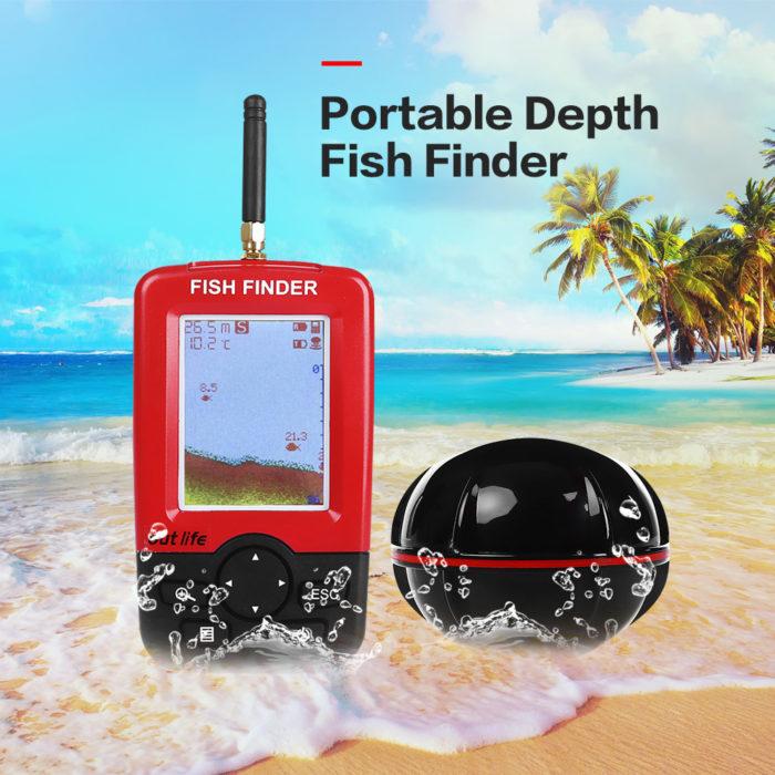 מכשיר לאיתור דגים בתוך המים
