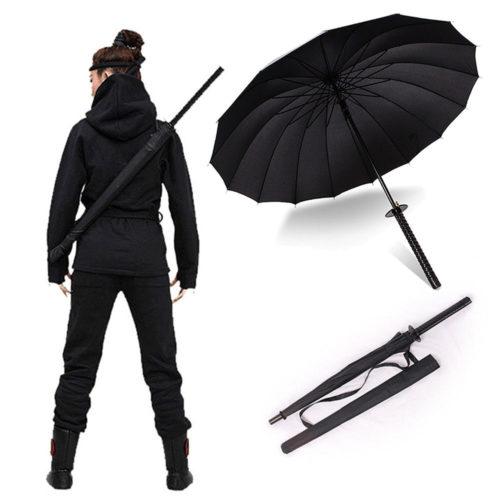 מטריה בסגנון חרב סמוראים