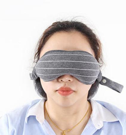 כרית לשינה בכל מקום ובכל תנוחה עם כיסוי עיניים