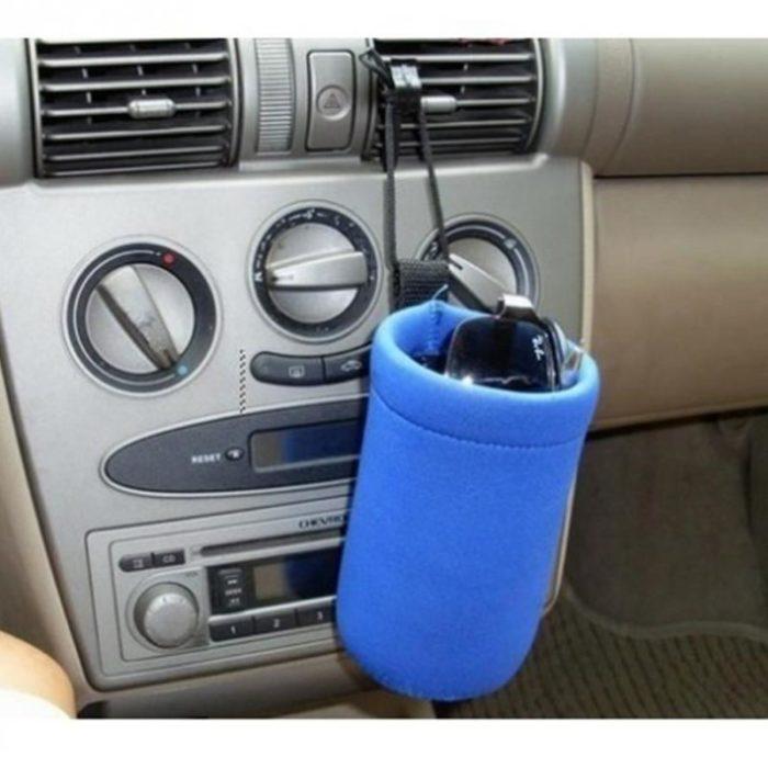 מחמם בקבוקים באמצעות חיבור למצת הרכב