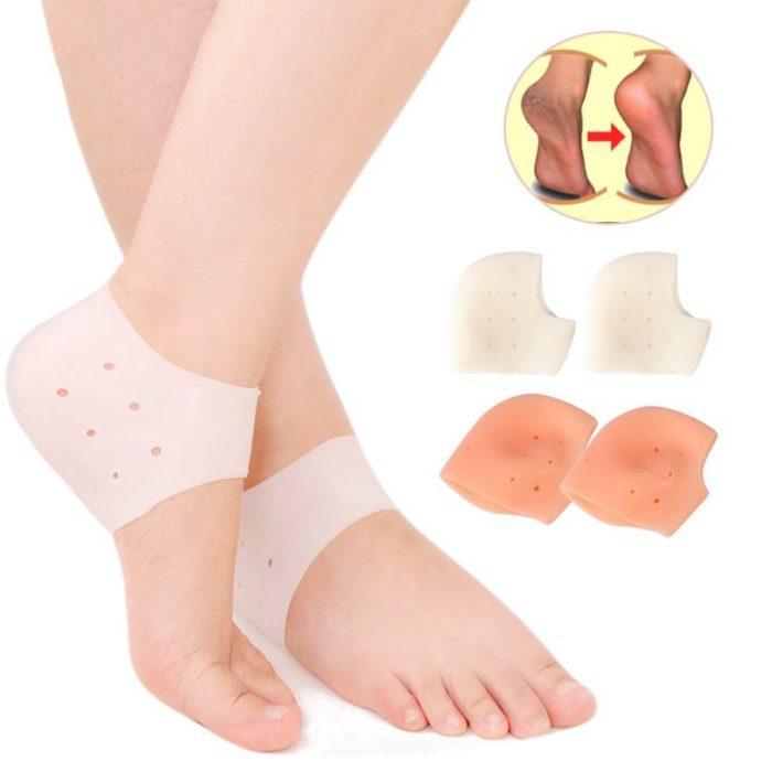 פדים מסיליקון למניעת עור יבש וכאבים בכף הרגל