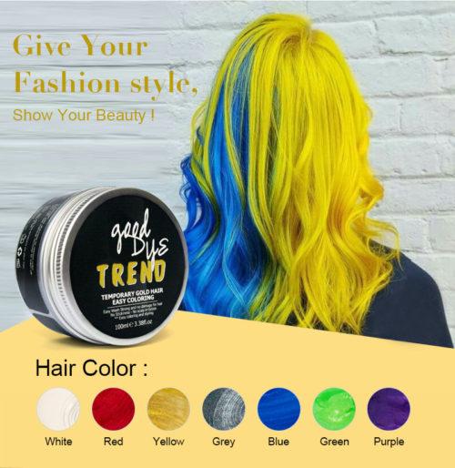 וקס לצביעת השיער בצבעים מגוונים