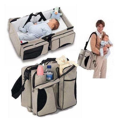 תיק רב שימושי לנשיאת והחתלת תינוקות