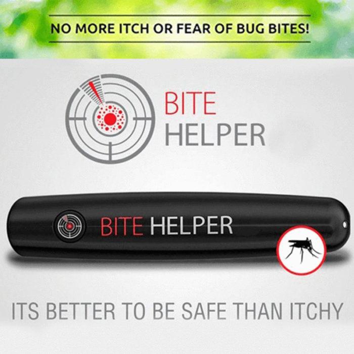 מנטרל עקיצות של יתושים ללא כאב