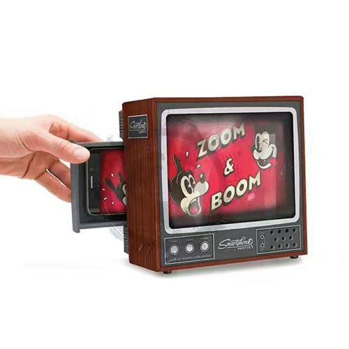 הופך כל סמארטפון למיני טלויזיה נוחה לצפייה