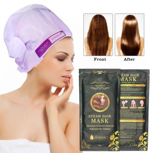 מסכת לחות לשיער לטיפול בשיער שרוף וחידוש הברק