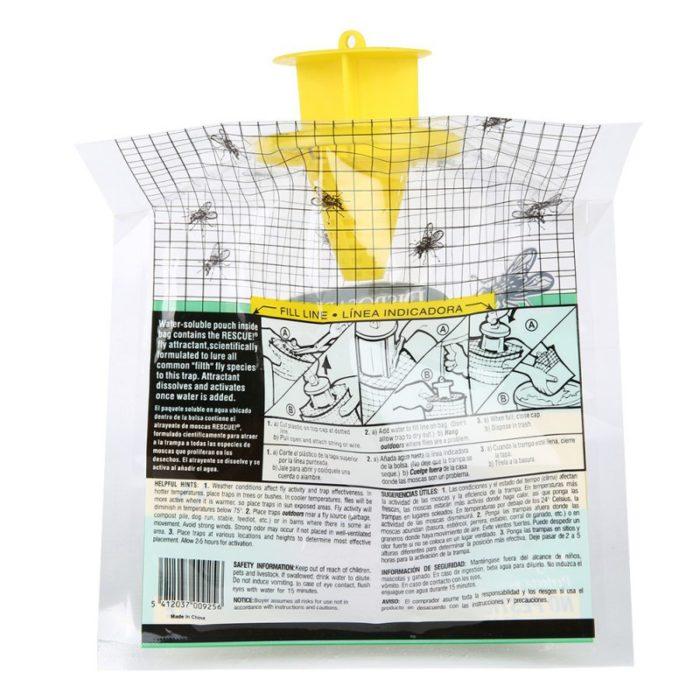שקית מלכודת זבובים מקצועית ללא חומרים כימיים
