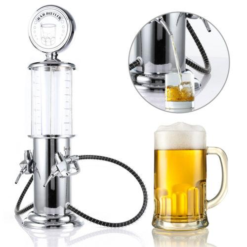 מיכל שתייה עם ברזי מזיגה בצורת משאבת דלק
