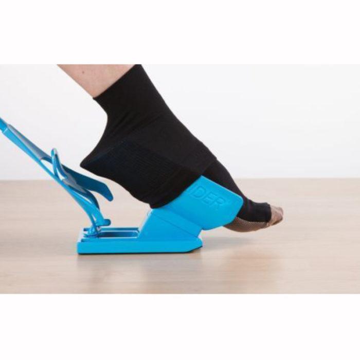 גורב גרביים בקלות לנשים בהיריון, מבוגרים, ואנשים עם בעיות גב