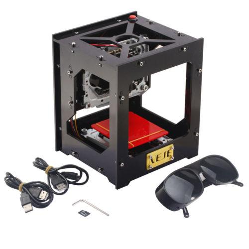מדפסת לייזר לחריטה על עץ, פלסטיק,עור ועוד באמצעות מחשב ביתי