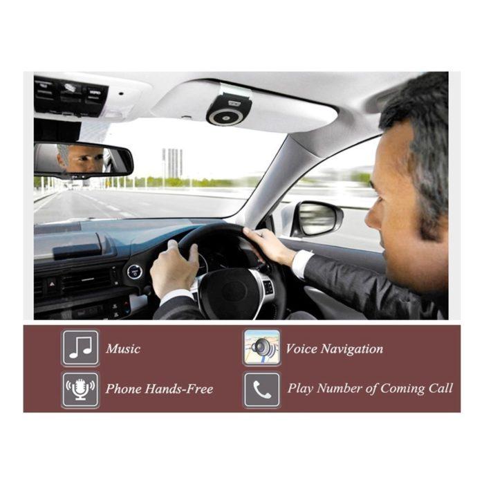 רמקול בלוטות' נטען לרכב להשמעת מוזיקה ושיחות