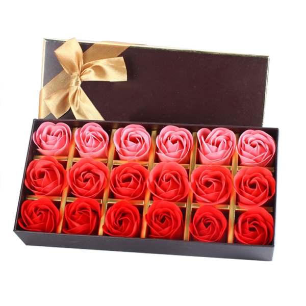 18 סבונים עבודת יד בצורת ורדים