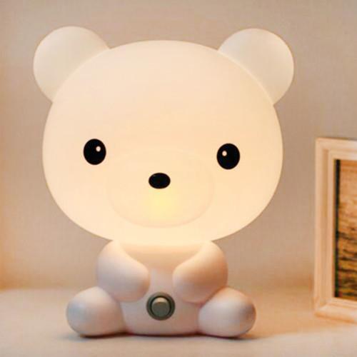 מנורת לילה לילדים בצורת חיות חמודות