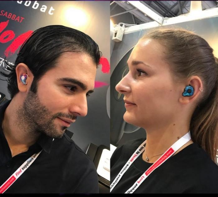 אוזניות אלחוטיות חסינות מים בטכנולוגית Bluetooth V5.0