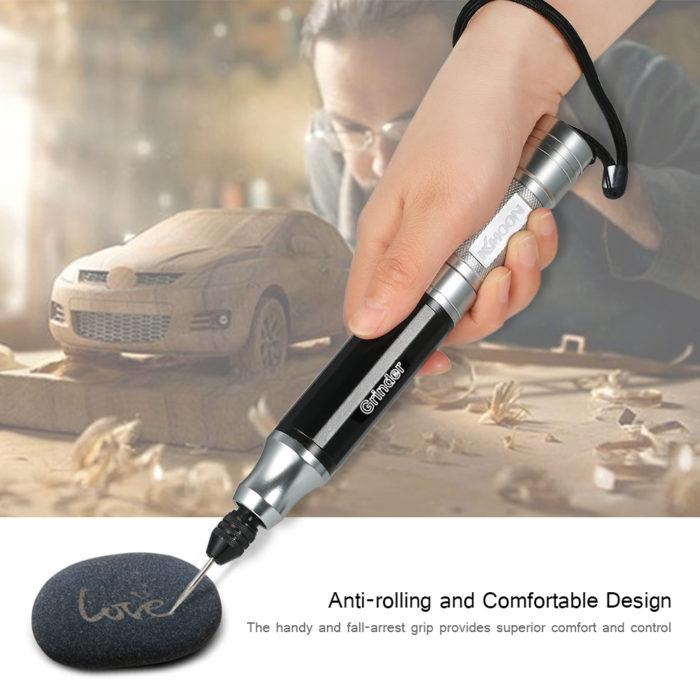 עט חריטה חשמלי מקצועי לחריטה ועיצוב באבן