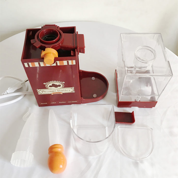 גריינדר חשמלי להכנת חמאת בוטנים ביתית טבעית