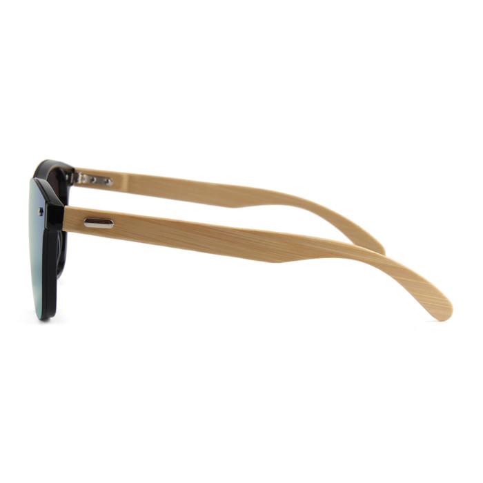 משקפי שמש מבמבוק עם עדשות אופנתיות