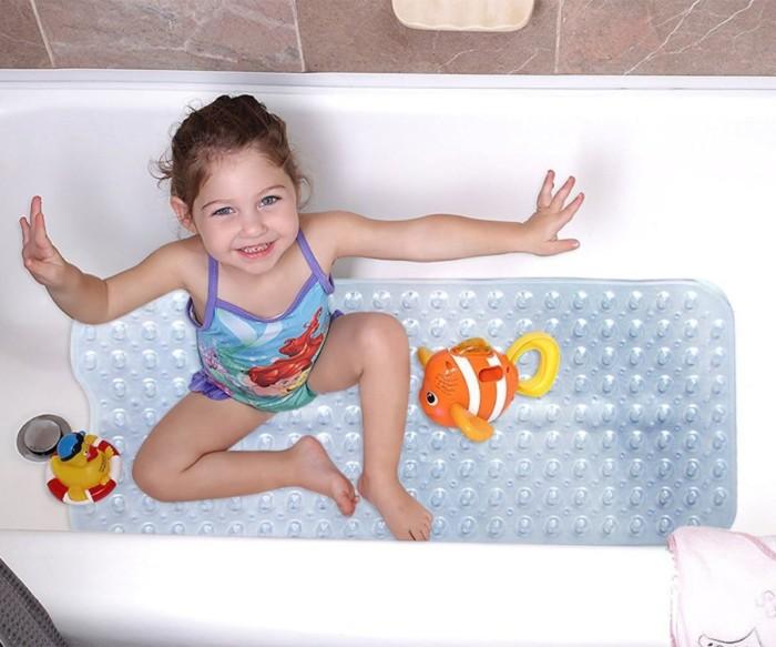 שטיחון מונע החלקה אנטי בקטריאלי למקלחת
