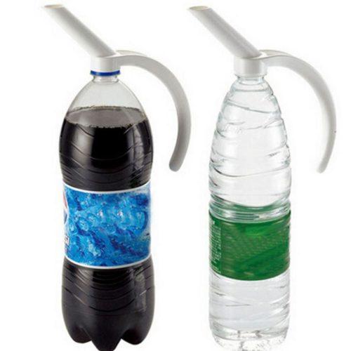 ידית לאחיזה ומזיגה נוחה של בקבוקים