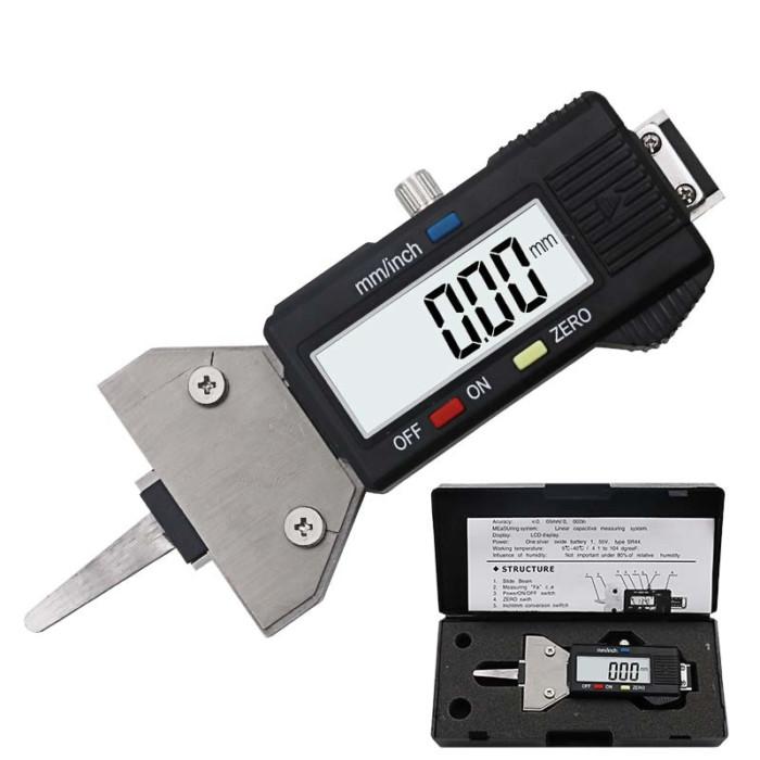 מכשיר דיגיטלי לבדיקת תקינות צמיגי הרכב