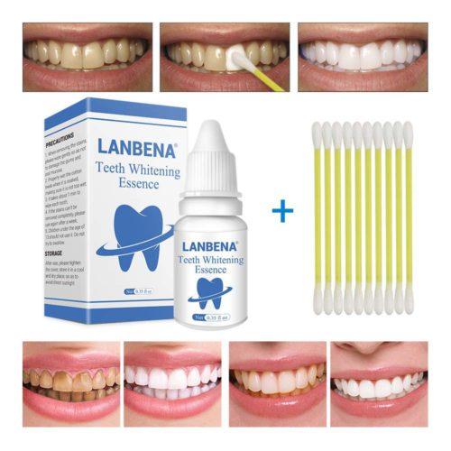 תכשיר להלבנת השיניים והסרת כתמים