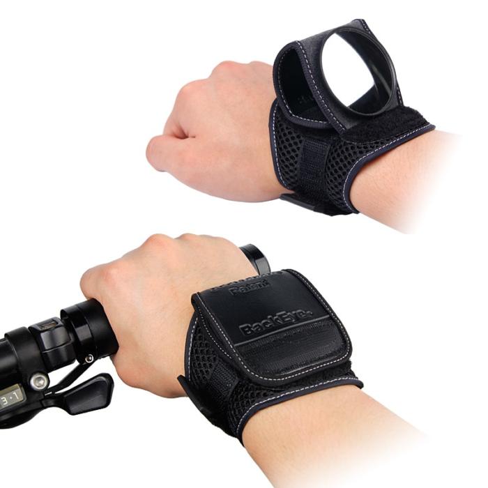 מראה המתלבשת על היד בקלות לרכיבה בטוחה