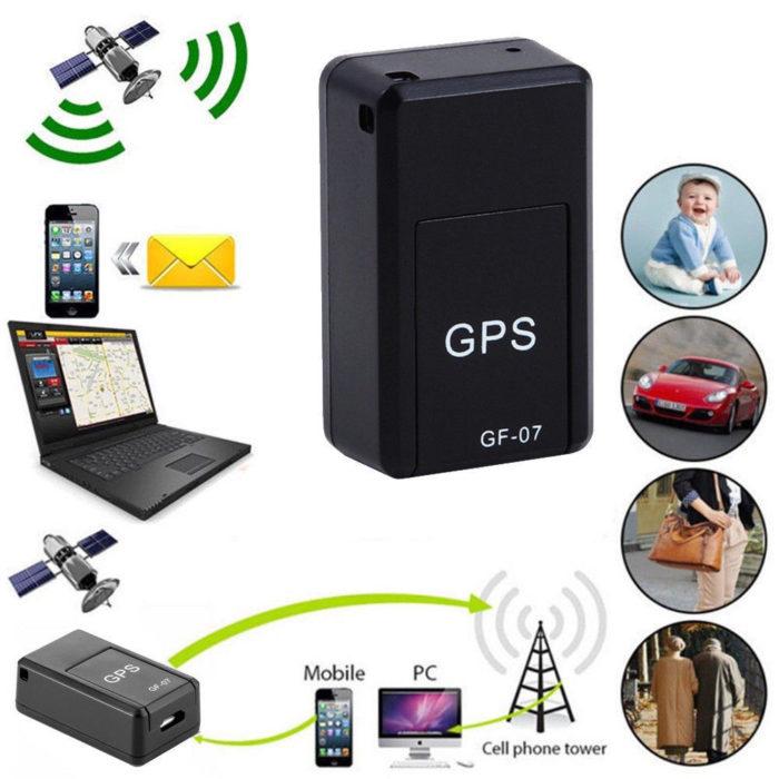 מיני GPS סופר מגנטי לאיתור באופן עצמאי