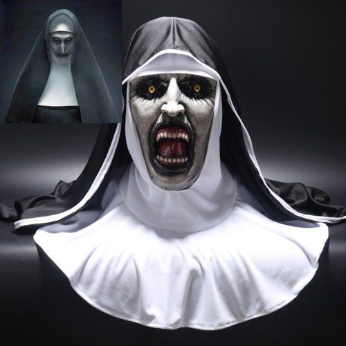 מסיכת נזירה מפחידה במיוחד