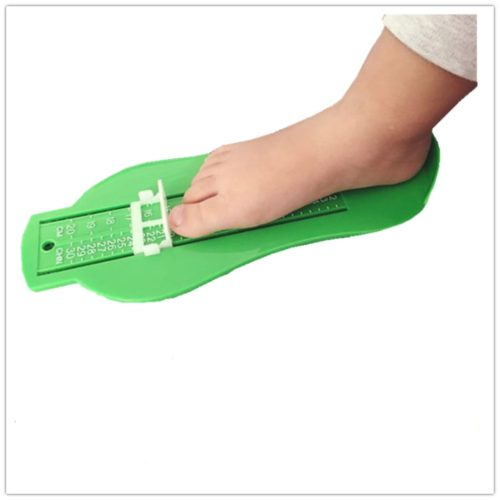 מכשיר לבדיקת מידה מדויקת של כף הרגל לילדים