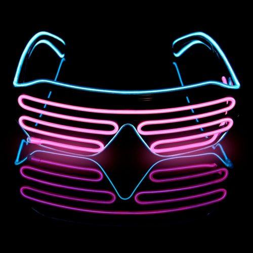 משקפי תאורת לד למסיבות