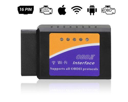 מכשיר לאיתור תקלות ברכב באופן עצמאי באמצעות חיבור ל-Wi-Fi