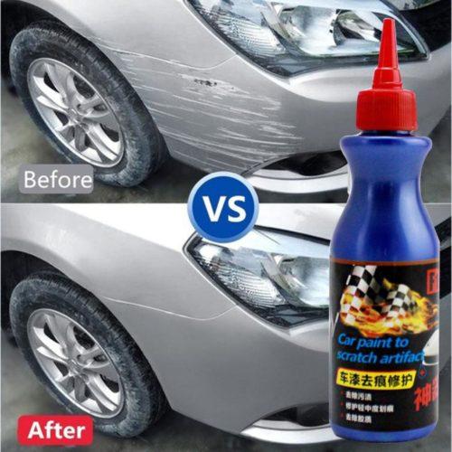 משחת ווקס מיוחדת להעלמת שריטות וכתמים על צבע הרכב