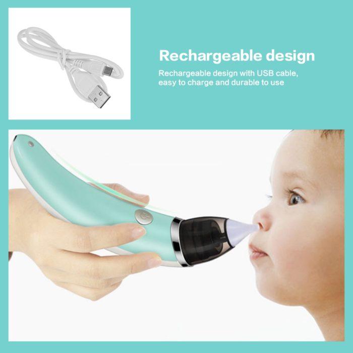מכשיר לניקוי אף לתינוקות וילדים קטנים ללא מאמץ