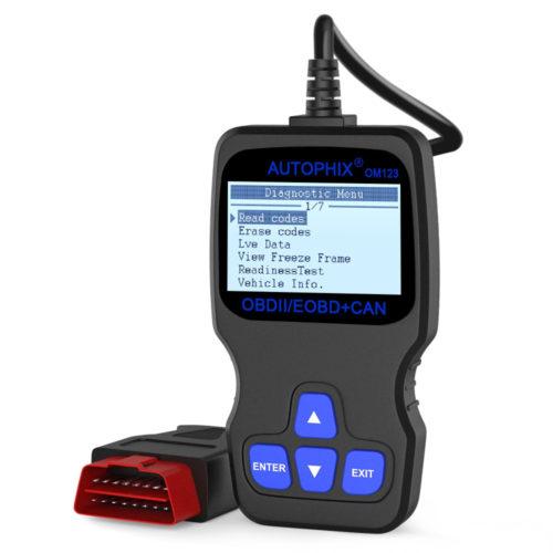 מכשיר לאבחון תקלות ברכב באופן עצמאי