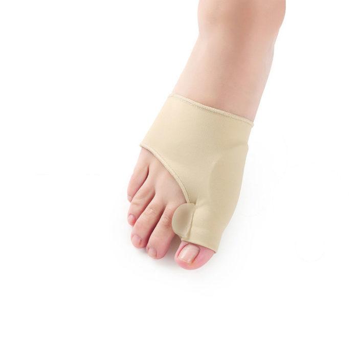 גרב ליישור עצם בולטת בכף הרגל
