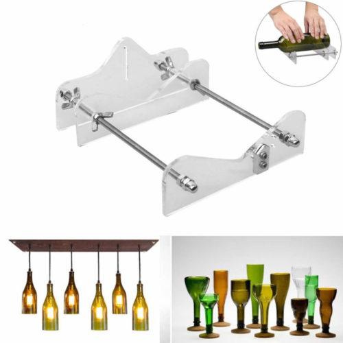 מכשיר לחיתוך בקבוקי זכוכית מעוצבים למגוון שימושים