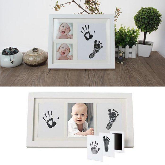 ערכה להעתקת טביעת כף רגל או כף יד של תינוקות