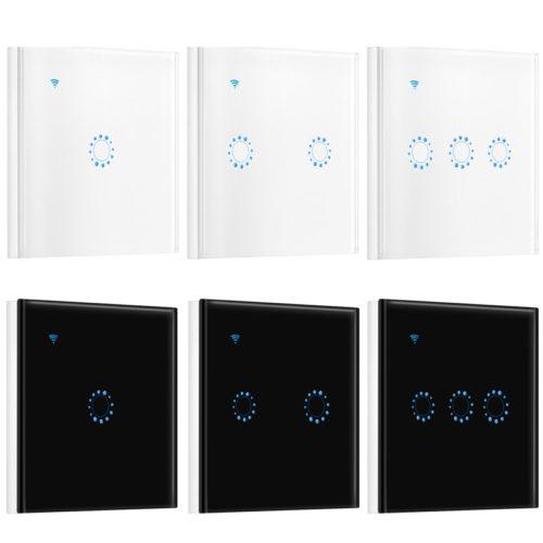 מתג תאורה טאצ' עם שליטה מרחוק באמצעות WiFi
