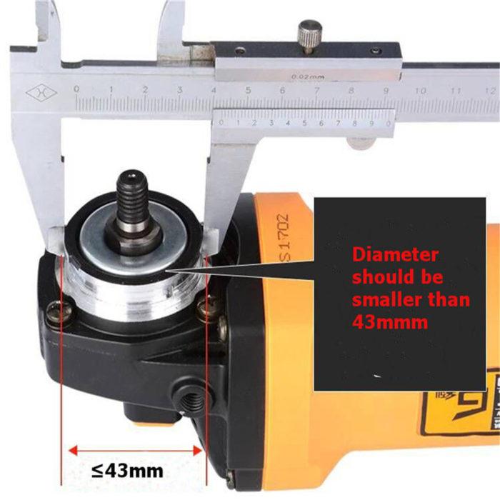 תוספת למכשיר דיסק החיתוך ההופכת אותו למסור מקצועי ברגע