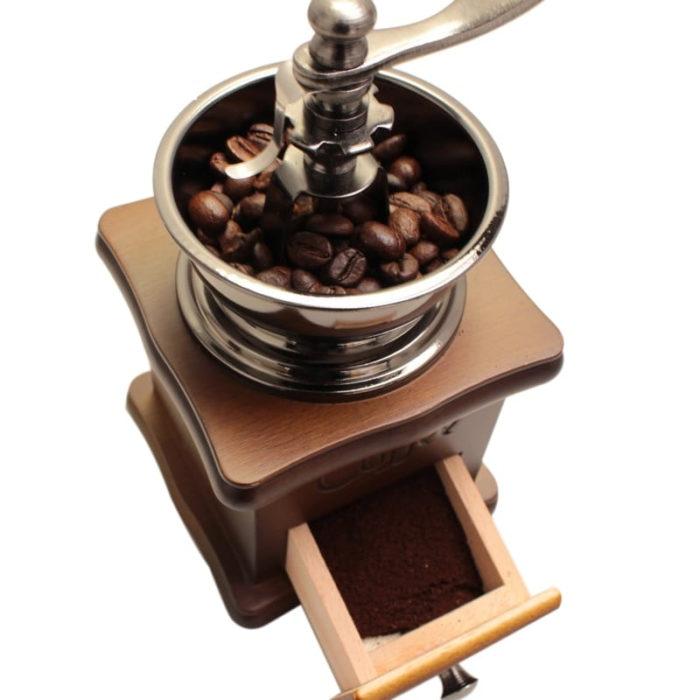 מטחנת פולי קפה ידנית