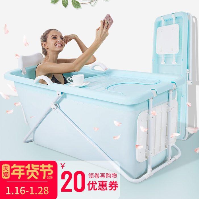 אמבטיה ניידת מתקפלת וקלה לנשיאה
