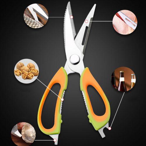 מספריים מקצועיים ורב שימושיים למטבח