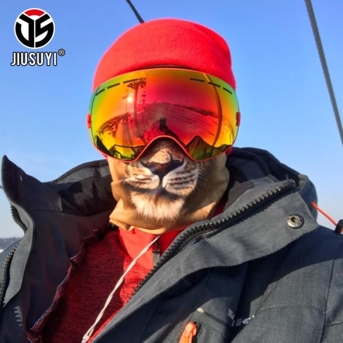 מסכת סקי מלאה לראש ולפנים בצורת חיות