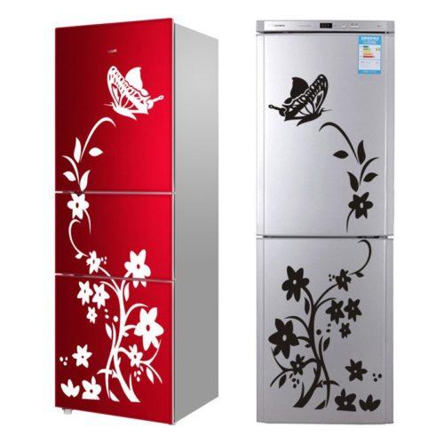 מדבקות דקורטיביות לדלתות המקרר