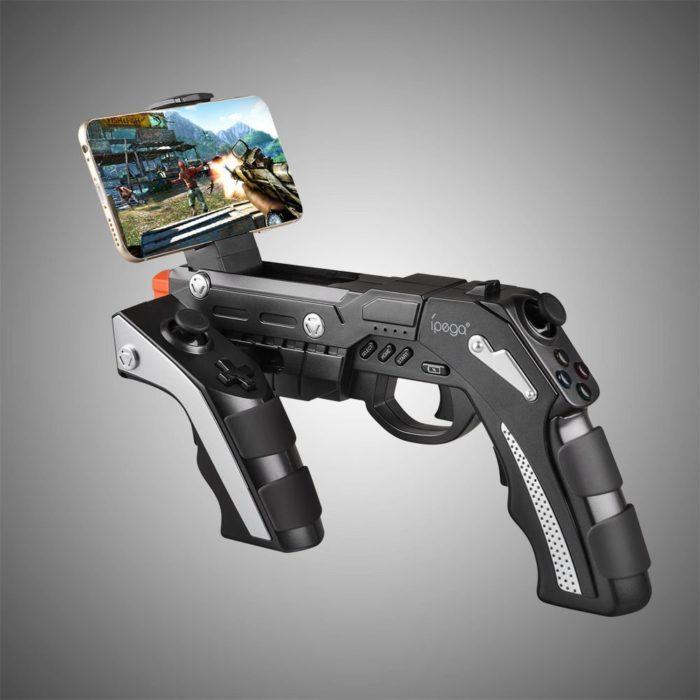 ג'ויסטיק רובה למשחקי יריות בסמארטפון