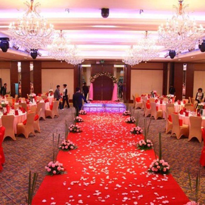 1,000 חתיכות עלי ורדים מפלסטיק לקישוט במגוון צבעים