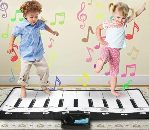 שטיח פסנתר מנגן לילדים